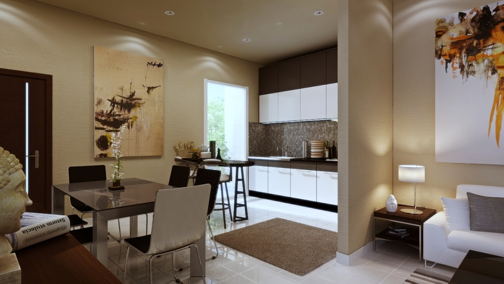 Sun Valley Internal Stills:: Kitchen and Dining Room
